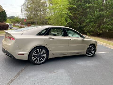2017 Lincoln MKZ for sale at Paramount Autosport in Kennesaw GA