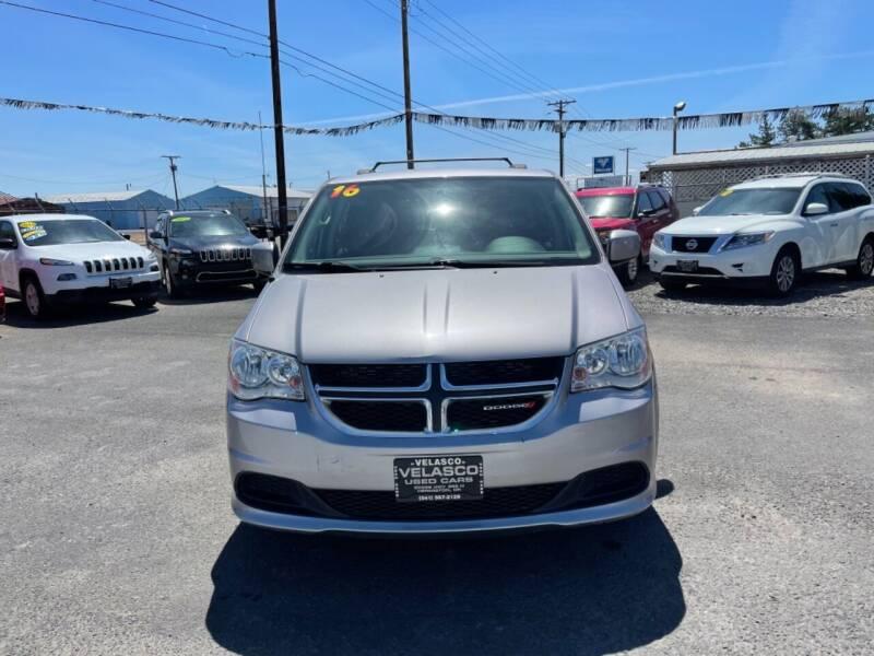 2016 Dodge Grand Caravan for sale at Velascos Used Car Sales in Hermiston OR