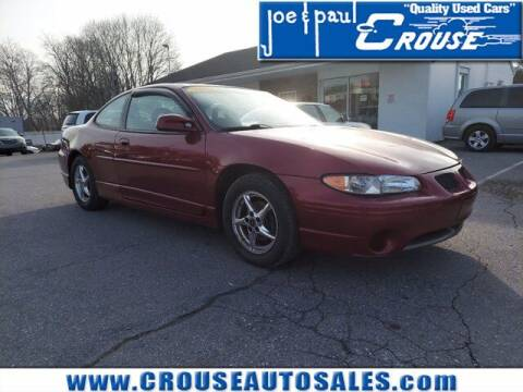 2002 Pontiac Grand Prix for sale at Joe and Paul Crouse Inc. in Columbia PA