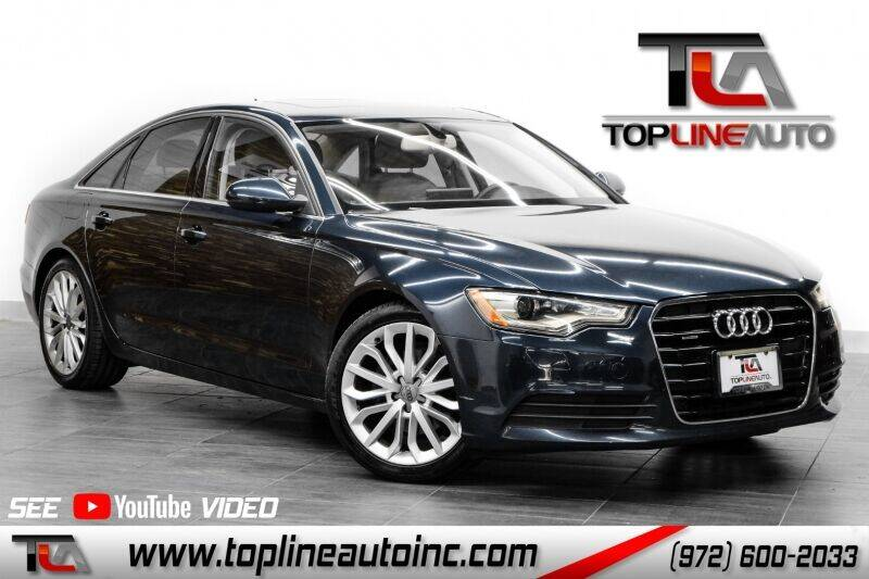 2013 Audi A6 for sale in Dallas, TX