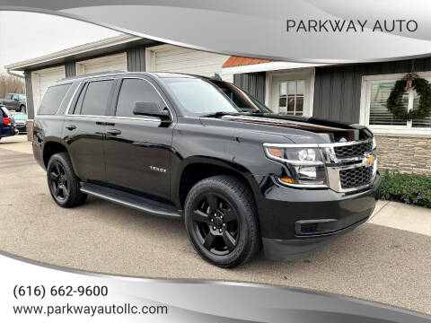 2017 Chevrolet Tahoe for sale at PARKWAY AUTO in Hudsonville MI