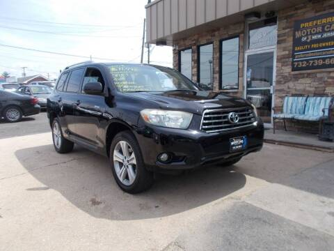 2008 Toyota Highlander for sale at Preferred Motor Cars of New Jersey in Keyport NJ