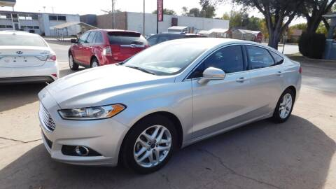 2016 Ford Fusion for sale at Mid Kansas Auto Sales in Pratt KS