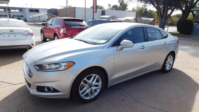 2016 Ford Fusion for sale at Mid Kansas Auto Sales in Pratt KS