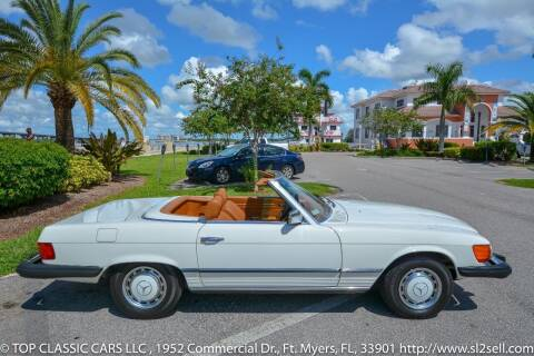 1977 Mercedes-Benz 450 SL for sale at Top Classic Cars LLC in Fort Myers FL