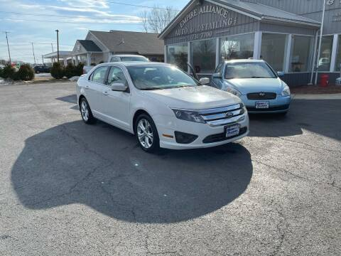 2012 Ford Fusion for sale at Empire Alliance Inc. in West Coxsackie NY