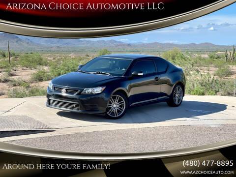 2012 Scion tC for sale at Arizona Choice Automotive LLC in Mesa AZ