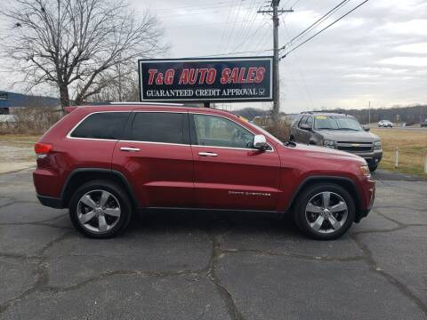 2014 Jeep Grand Cherokee for sale at T & G Auto Sales in Florence AL