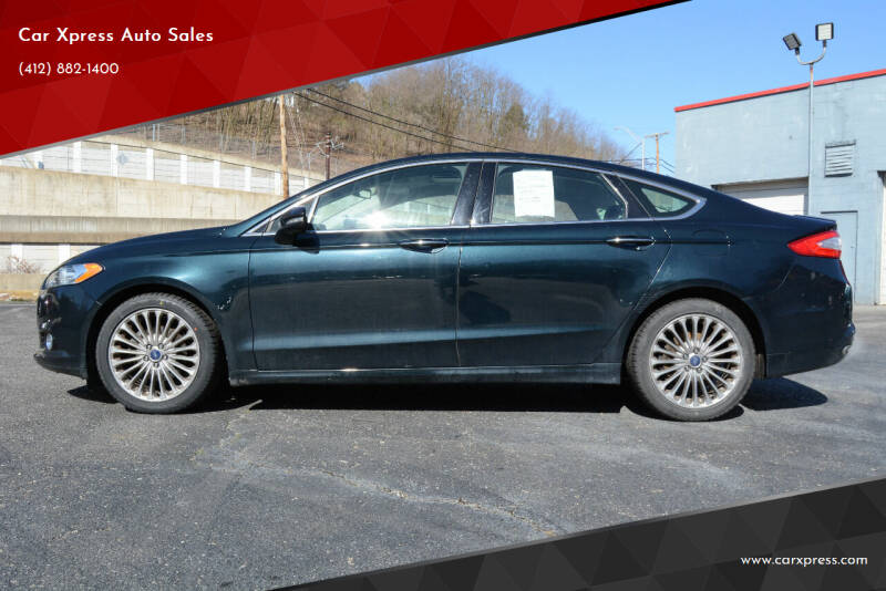 2014 Ford Fusion for sale at Car Xpress Auto Sales in Pittsburgh PA