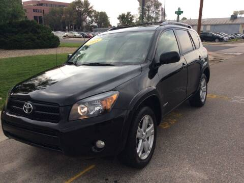 2008 Toyota RAV4 for sale at AROUND THE WORLD AUTO SALES in Denver CO
