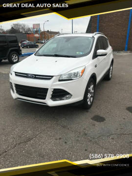 2015 Ford Escape for sale at GREAT DEAL AUTO SALES in Center Line MI