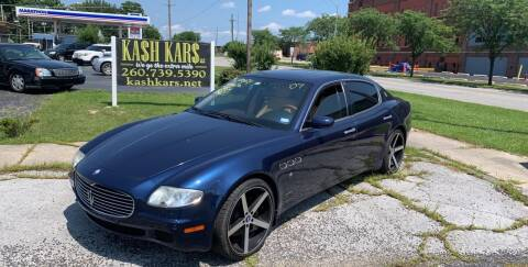 2007 Maserati Quattroporte for sale at Kash Kars in Fort Wayne IN