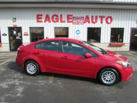 2016 Kia Forte for sale at Eagle Auto Center in Seneca Falls NY