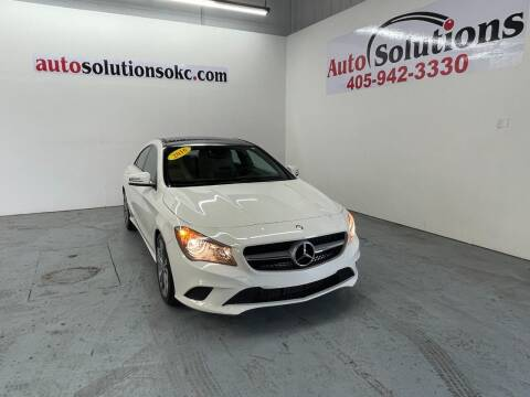 2016 Mercedes-Benz CLA for sale at Auto Solutions in Warr Acres OK