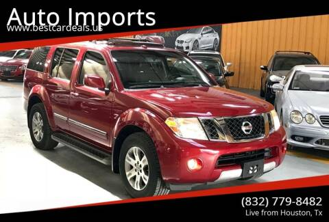 2008 Nissan Pathfinder for sale at Auto Imports in Houston TX