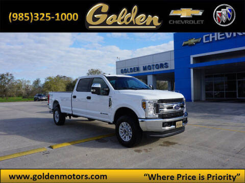 2019 Ford F-250 Super Duty for sale at GOLDEN MOTORS in Cut Off LA