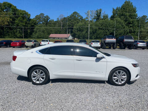 2018 Chevrolet Impala for sale at Alpha Automotive in Odenville AL