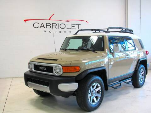 2014 Toyota FJ Cruiser for sale at Cabriolet Motors in Morrisville NC