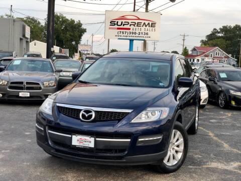 2008 Mazda CX-9 for sale at Supreme Auto Sales in Chesapeake VA