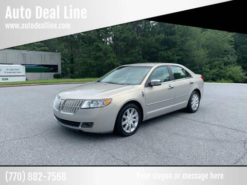 2010 Lincoln MKZ for sale at Auto Deal Line in Alpharetta GA
