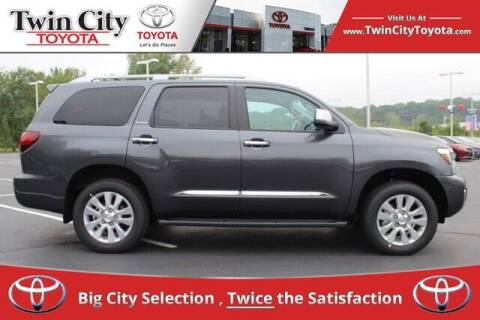 2020 Toyota Sequoia for sale at Twin City Toyota in Herculaneum MO
