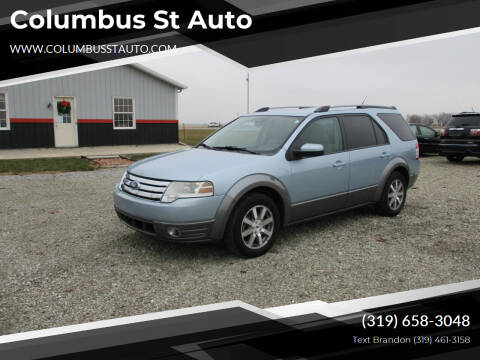 2008 Ford Taurus X for sale at Columbus St Auto in Crawfordsville IA