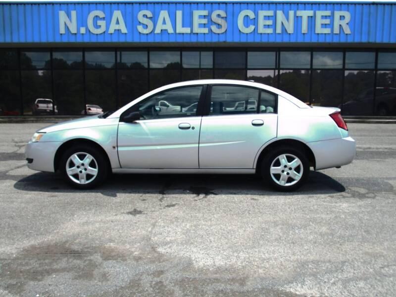 2006 Saturn Ion for sale at NORTH GEORGIA Sales Center in La Fayette GA