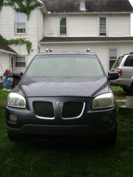 2006 Pontiac Montana SV6 for sale at Carlisle Cars in Chillicothe OH