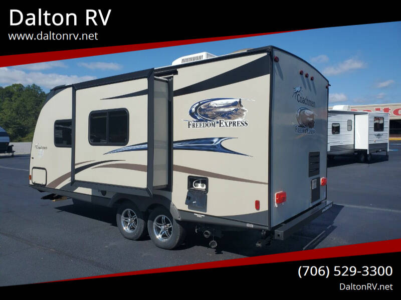 2014 Coachmen Freedom Express 192R for sale at Dalton RV in Dalton GA