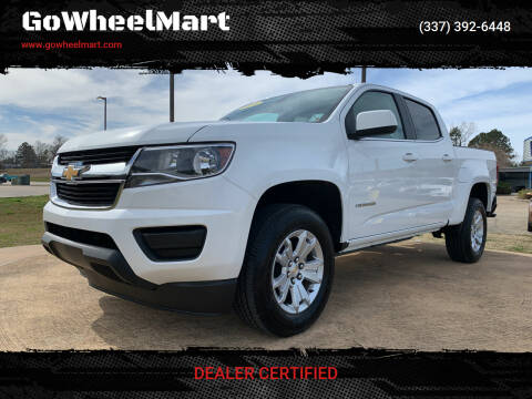 2020 Chevrolet Colorado for sale at GOWHEELMART in Leesville LA