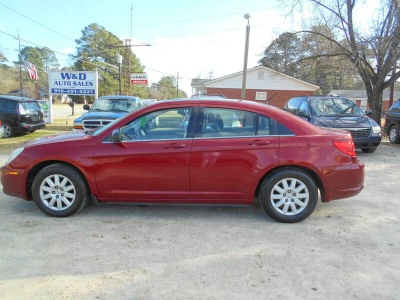2008 Chrysler Sebring for sale at W & D Auto Sales in Fayetteville NC