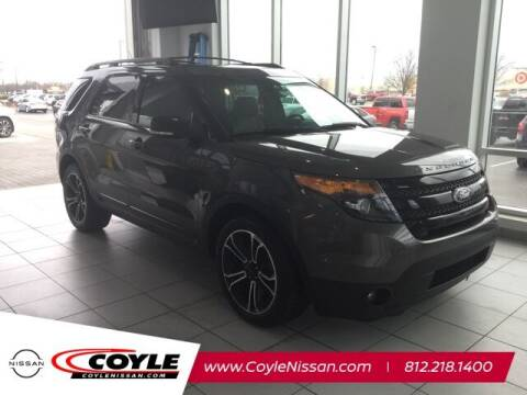 2015 Ford Explorer for sale at COYLE GM - COYLE NISSAN - Coyle Nissan in Clarksville IN