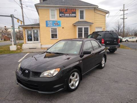 2006 Subaru Impreza for sale at Top Gear Motors in Winchester VA