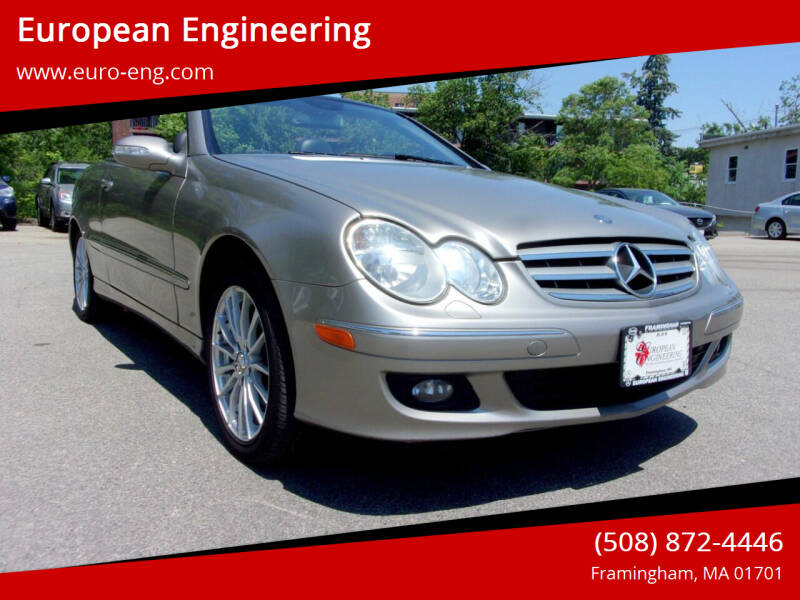2006 Mercedes-Benz CLK for sale at European Engineering in Framingham MA