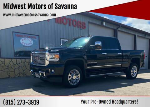 2017 GMC Sierra 2500HD for sale at Midwest Motors of Savanna in Savanna IL