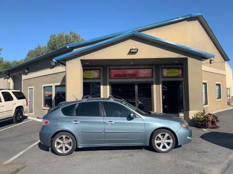 2011 Subaru Impreza for sale at Advantage Auto Sales in Garden City ID