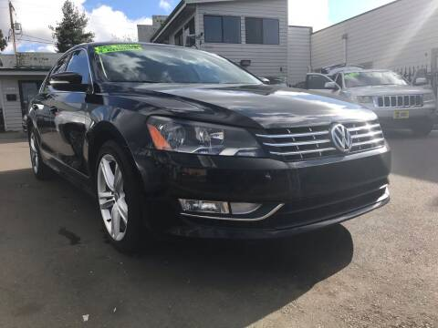 2013 Volkswagen Passat for sale at Salem Auto Market in Salem OR