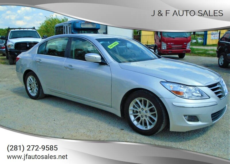2011 Hyundai Genesis for sale at J & F AUTO SALES in Houston TX
