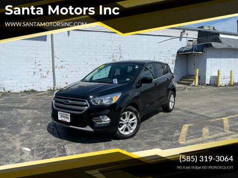 2017 Ford Escape for sale at Santa Motors Inc in Rochester NY