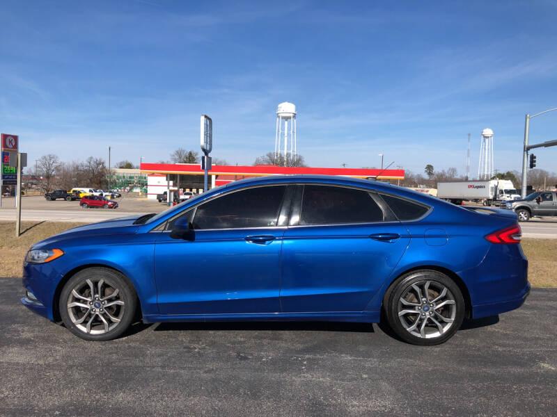 2017 Ford Fusion for sale at Village Motors in Sullivan MO