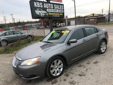 2011 Chrysler 200 for sale at KBS Auto Sales in Cincinnati OH