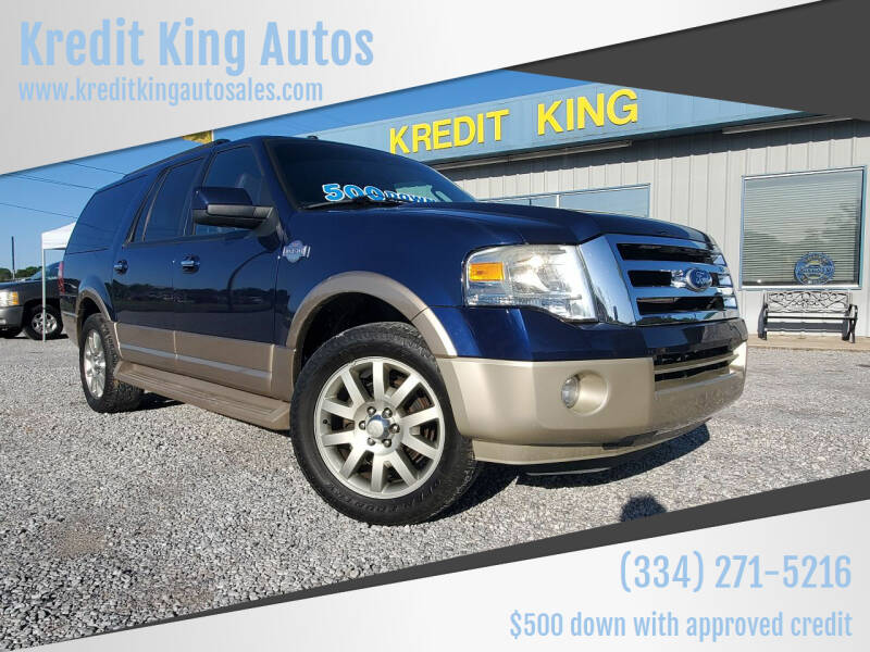 2011 Ford Expedition EL for sale at Kredit King Autos in Montgomery AL