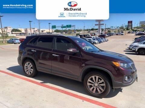 2011 Kia Sorento for sale at DAVID McDAVID HONDA OF IRVING in Irving TX