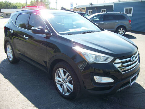 2014 Hyundai Santa Fe Sport for sale at USED CAR FACTORY in Janesville WI