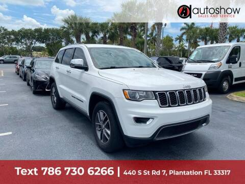 2017 Jeep Grand Cherokee for sale at AUTOSHOW SALES & SERVICE in Plantation FL