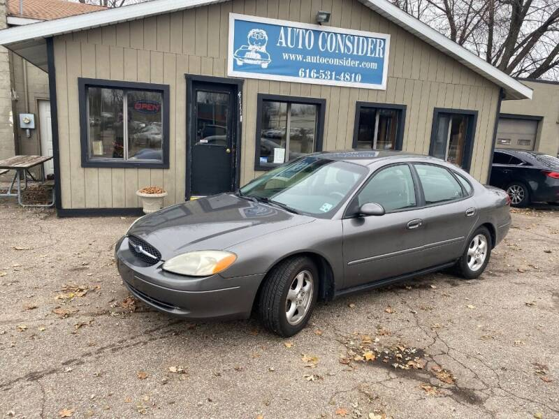 2002 Ford Taurus for sale at Auto Consider Inc. in Grand Rapids MI