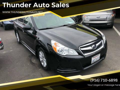 2012 Subaru Legacy for sale at Thunder Auto Sales in Sacramento CA