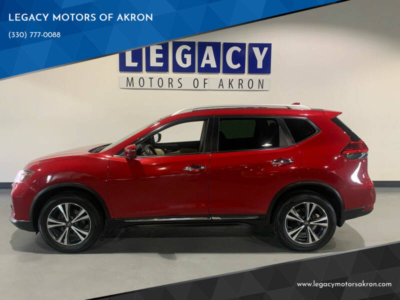 2017 Nissan Rogue for sale at LEGACY MOTORS OF AKRON in Akron OH