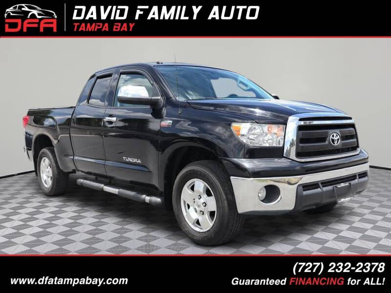 2012 Toyota Tundra for sale at David Family Auto in New Port Richey FL