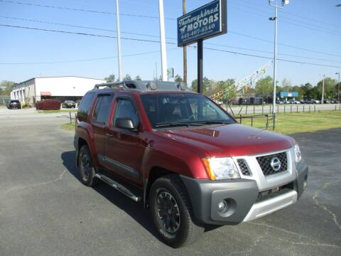 2015 Nissan Xterra for sale at Thoroughbred Motors LLC in Florence SC